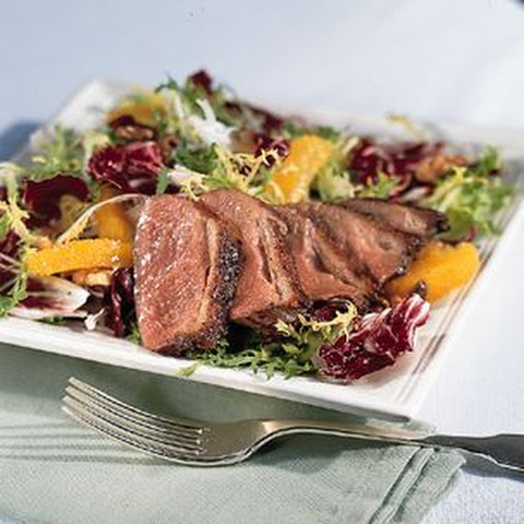duck breast seared duck breast with garam masala and grapes recipes ...