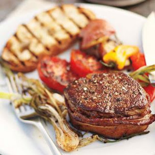 Bacon-Wrapped Beef Medallions With Smoked Paprika Butter Recipes ...