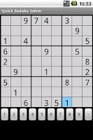 Screenshot of Quick Sudoku Solver (ad free)