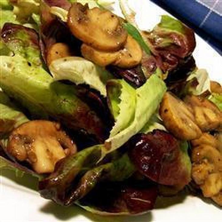 Warm Mushroom Salad Recipe   Yummly