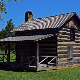Blackhand Gorge Cabin by Chuck Hagan - Buildings & Architecture Homes ( cabin, blackhand gorge )