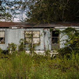 abandoned trailor by Trey Walker - Novices Only Landscapes ( decying, old, trailor, decay, abandoned )