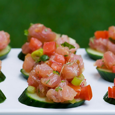 asian tuna tartare recipe yummly asian tuna tartare tuna and avocado ...
