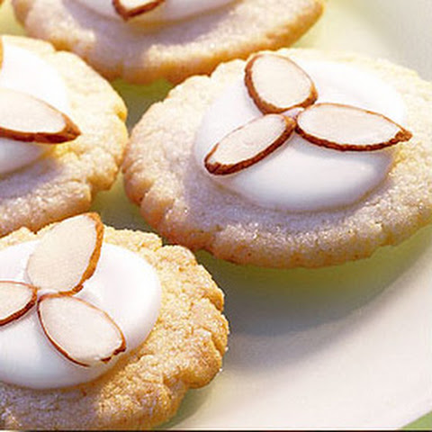 Almond Glazed Sugar Cookies