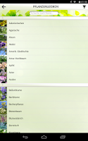 Screenshot of Bienen-App