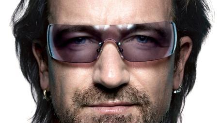 Paul David Hewson with sunglasses