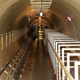 Biosphere Tunnel by Ken Miller - Buildings & Architecture Architectural Detail ( biosphere, arizona, lines, architectural detail, technical, architecture,  )
