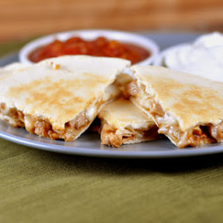BBQ Turkey Quesadillas