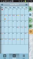 Screenshot of Period Tracker (Pink Pad)