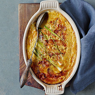 Gluten-Free Spoon Bread with Guanciale