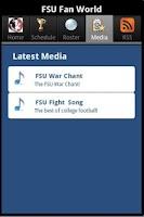 Screenshot of FSU Fan World