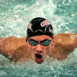 Greenwood Indiana-Center Grove vs Carmel Swimming 2 by Oscar Salinas - Sports & Fitness Swimming (  )