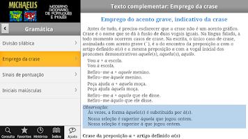 Screenshot of Dicionário Português e Inglês