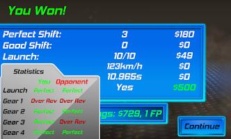 Screenshot of 3D Drag Race