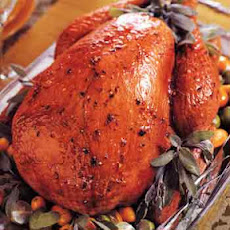 Citrus-Glazed Turkey with Chipotle Gravy