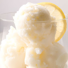 Lemon-Ginger Frozen Yogurt