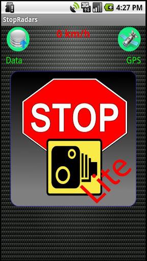 StopRadarsLite Speed Cameras