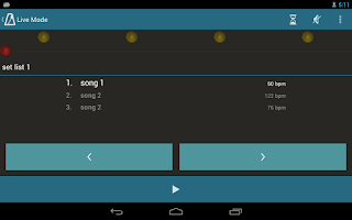 Screenshot of Metronome Beats Pro