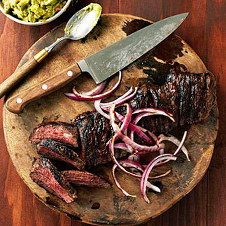 Carne Asada on The Grill Carne Asada Con Mojo Grilled