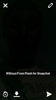 Screenshot of Front Flash for Snapchat