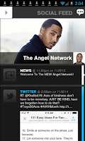 Screenshot of Trey Songz - The Angel Network