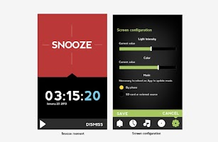 Screenshot of Relax Lights Alarm