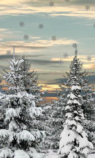 Winter Snow Trees 3D LWP