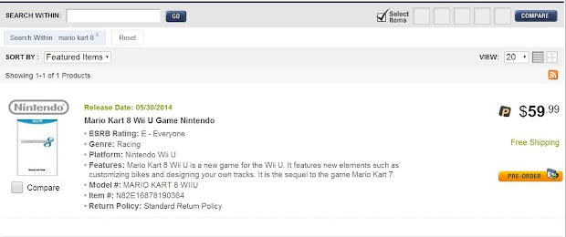 Rumour suggests Mario Kart 8 could ship with a track editor