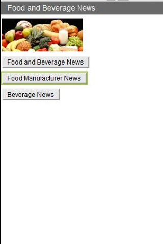 Food and Beverage News