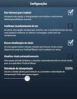Screenshot of ProDeaf Libras Translator