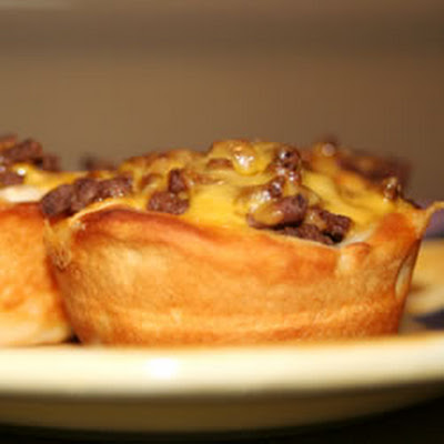 Barbecue Beef Cups