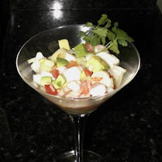 Citrus Ceviche With Shrimp and Scallops