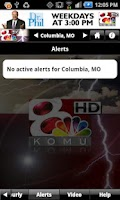 Screenshot of KOMU WX