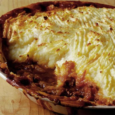 Tasty Shepherd's Pie With Parsnip Mash