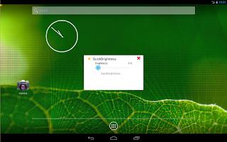 Screenshot of QuickBrightness