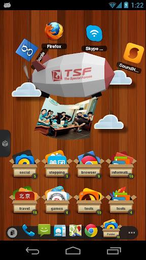 TSF Shell v2.0.6 APK