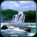 3D Waterfall HD wallpaper mobile app icon
