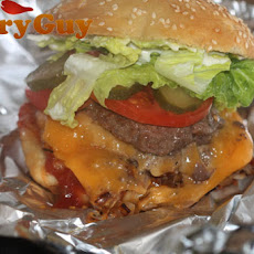 How To Make A 5 Guys Burger