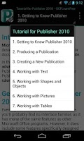 Screenshot of GCF Publisher 2010 Tutorial
