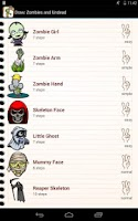 Screenshot of Draw Zombies and Undead