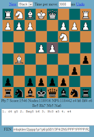 Screenshot of Chess Master.