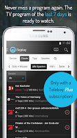 Screenshot of Teleboy Live TV and TV Program