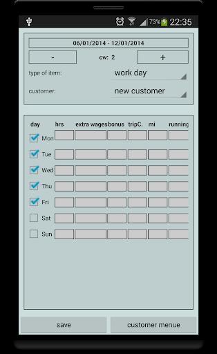 Wage-Check - screenshot