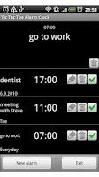 Screenshot of Tic Tac Toe Alarm Clock