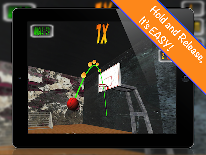 Coin Swish Basketball - screenshot