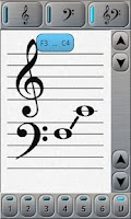 Screenshot of Music Tutor Sight Read