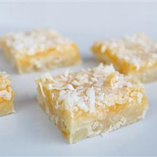 Lemon Coconut Squares Recipes