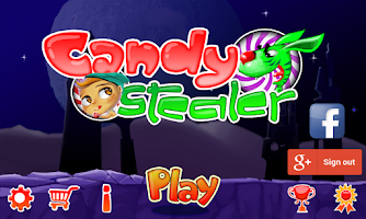 Screenshot of Candy Stealer -Platformer Game