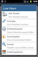 Screenshot of Saarland Rezepte