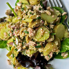Dinner Tonight: Warm Fingerling Potato and Tuna Salad